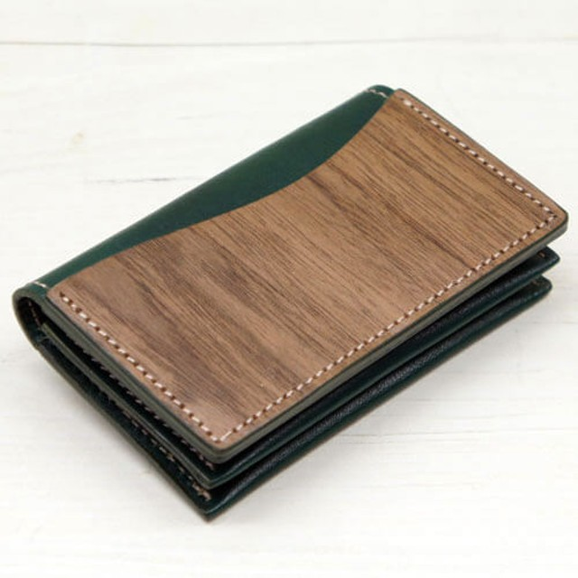 【VARCO】REAL WOOD カードケース
