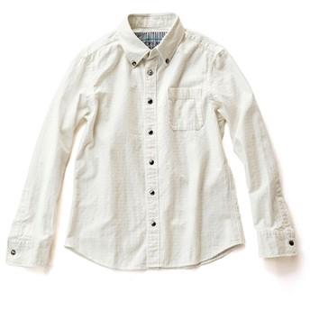 【DOPE & DRAKKAR】コンチョボタンダウンシャツ