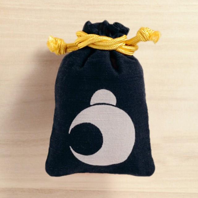 【ポンピン堂】守袋/括り猿
