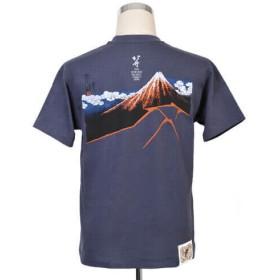 【久米繊維工業】北斎プロジェクトTシャツ