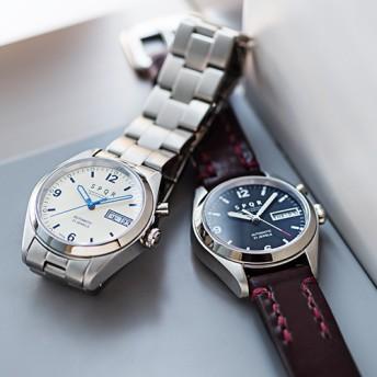 【SPQR】Ventuno dd 自動巻デイデイト腕時計