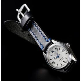 【SPQR】Ventuno pr「アイボリー文字盤xSOMESベルト腕時計」