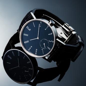 【SPQR】urushi-kiso腕時計 スモールセコンド 37mm/濃藍(こいあい)