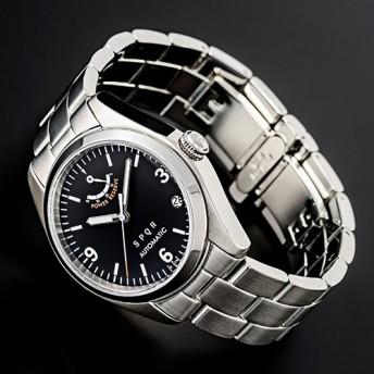 【SPQR】Ventuno pr「初代バージョン復刻モデル腕時計 ステンレスベルト」