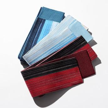 【美濃和紙x柏屋】角帯 よろけ格子 清流織