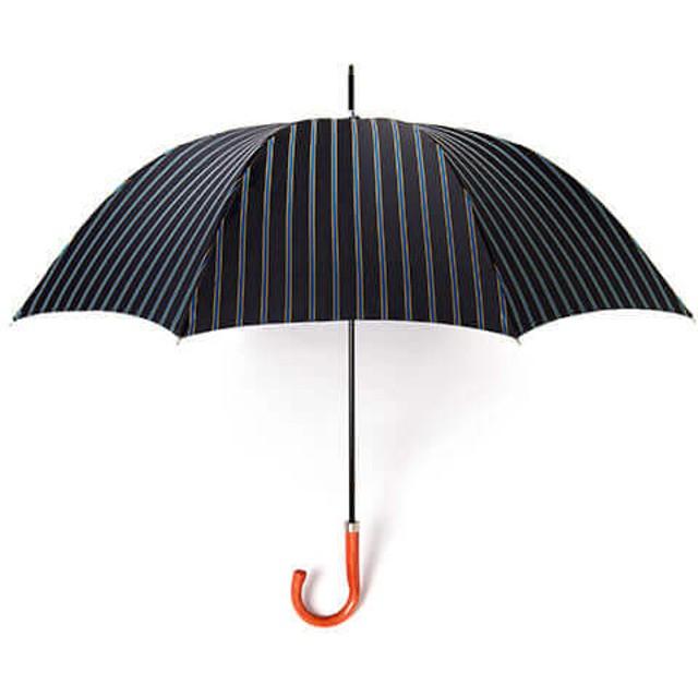 【RAMUDA】紳士長傘 ダブルフェイスカラーストライプ