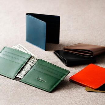 【Munekawa】二つ折り財布-Minimum-
