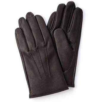【KURODA】メンズ羊革カシミア手袋