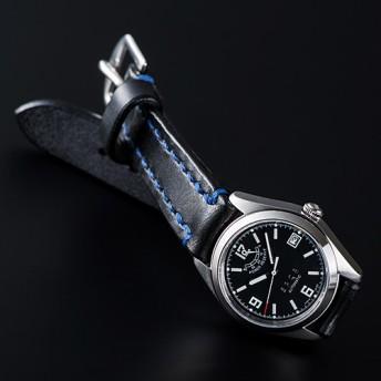 【SPQR】Ventuno pr「ブラック文字盤xSOMESベルト腕時計」