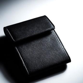 【二宮五郎商店】KAWA-ORIGAMI(R)ホーウィンレザー「スティックイン」カードケース