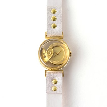 【ArtyArty】クラフト時計/UY「タイムカプセルハート」