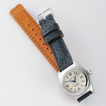 【SPQR】Ventuno fj「オールステンレスケースxSOMESパンチングベルト腕時計」