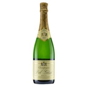 シャンパン スパークリング ワイン ポル・ジェス ブリュット(Pol Gesse Brut) フランス 白泡 辛口 750ml