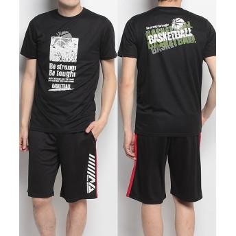 販売主:スポーツオーソリティ エスエーギア/メンズ/半袖グラフィックTEE BE STRONG メンズ ブラック L 【SPORTS AUTHORITY】