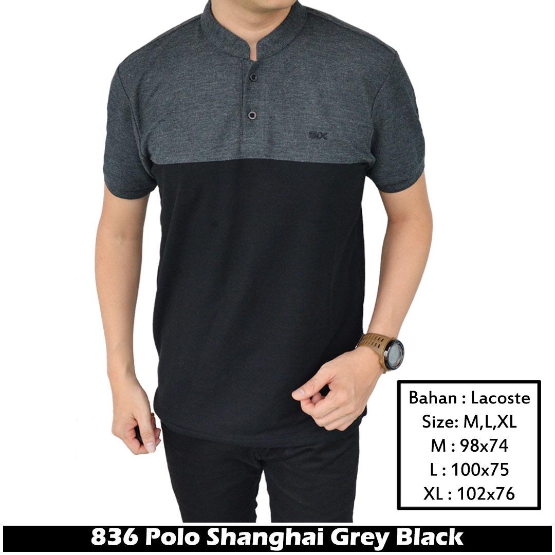Polo Shirt Pria Polos Pendek Abu Grey Spec Dan Daftar Harga Eiger Logo Sketch Ol T Red Kaos Merah M S Ifh 836 Promo Murah Kombinasi Hitam Lacost Kerah Sanghai Slimfit