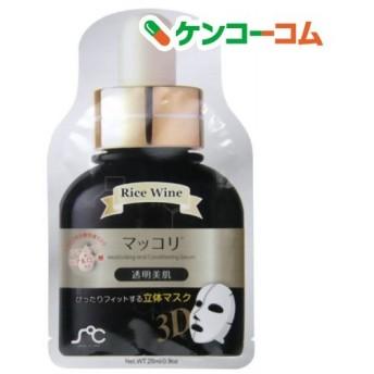 センスオブケア 3Dマスクパック マッコリ 透明美肌 ( 20枚入 )/ センスオブケア