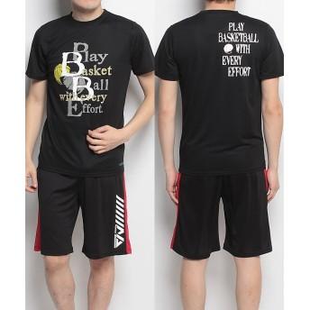 販売主:スポーツオーソリティ エスエーギア/メンズ/半袖グラフィックTEE PLAY メンズ ブラック L 【SPORTS AUTHORITY】