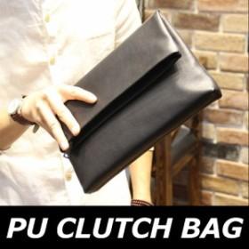 クラッチバッグ メンズ 小さめ 小さい PU メンズバッグ 黒 セカンドバッグ ビジネス SBG09 福袋