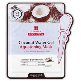 LEADERS リーダース インソリューション ココナッツ ウォーター ゲル アクアトーニング マスク 25ml x 1枚 韓国コスメ