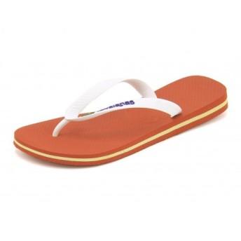 SALE!havaianas(ハワイアナス) BRAZIL LOGO(ブラジルロゴ) 4110850 1006 パンプキン【レディース】【ネット通販特別価格】 サンダル トング