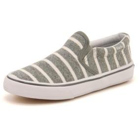 キッズ SALE!Keds(ケッズ) ANCHOR SLIP ON(アンカースリッポン) 738015 グレー運動靴【ネット通販特別価格】 スニーカー ボーイズ