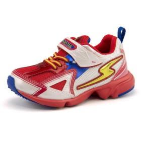 SALE!SUPERSTAR(スーパースター) バネのチカラ キッズ スニーカー SS K2983G レッド/ホワイト運動靴【ネット通販特別価格】SN ボーイズ