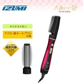 IZUMI 泉精器 Allureシリーズ マイナスイオンカーリングドライヤー レッド CD-TM77-R