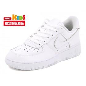 キッズ NIKE(ナイキ) AIR FORCE 1 (PS)(エアフォースワンPS) 314193 117 ホワイト/ホワイト/ホワイト運動靴 スニーカー ボーイズ