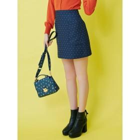 dazzlin ポケット台形ミニスカート