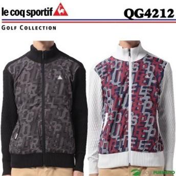 【即納!】ルコック ゴルフ フルジップセーター メンズ 秋冬 防寒 QG4212