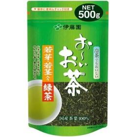 伊藤園 おーいお茶 若芽若茎入り緑茶 500g