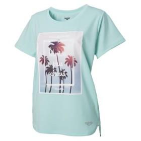 デュアリグ(DUARIG) ドライプラス UVメッシュ半袖Tシャツ 864D8CD5650 EGRN (Lady's)