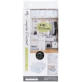 MSC 収納袋 すきま収納 クローゼット ホワイト 衣類用 85692 ( 1コ入 )/ TOWA(東和産業)