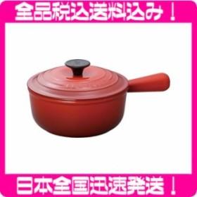 ル・クルーゼ ソースパン 18cm チェリーレッド 2507-18-06 【日本正規販売品】
