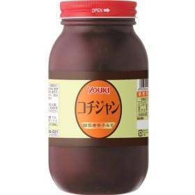 ユウキ食品 コチジャン 1kg   【YOUKI 韓国調味料 コチュジャン 唐がらしみそ 辛味噌 辛みそ】