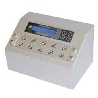 【在庫目安:お取り寄せ】ディジタル・ストリームス FURUH009M スーパーデューパー USBデュプリケータ/ コピーマシン Hシリーズ 1対9
