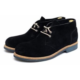 ○ブッテロ BUTTERO B4572 チャッカブーツ ブーツ メンズ 中古