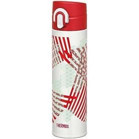 サーモス ステンレスボトル 水筒 0.4L JOA-401-ASH アサノハ 直飲み ワンタッチ栓 保温 保冷