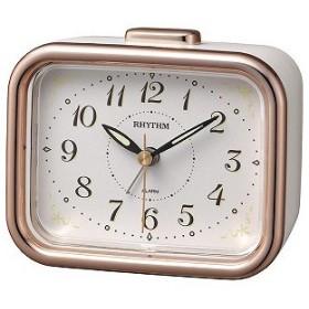 リズム時計工業 目覚まし時計 8RA644SR13 8RA644SR13 ピンク