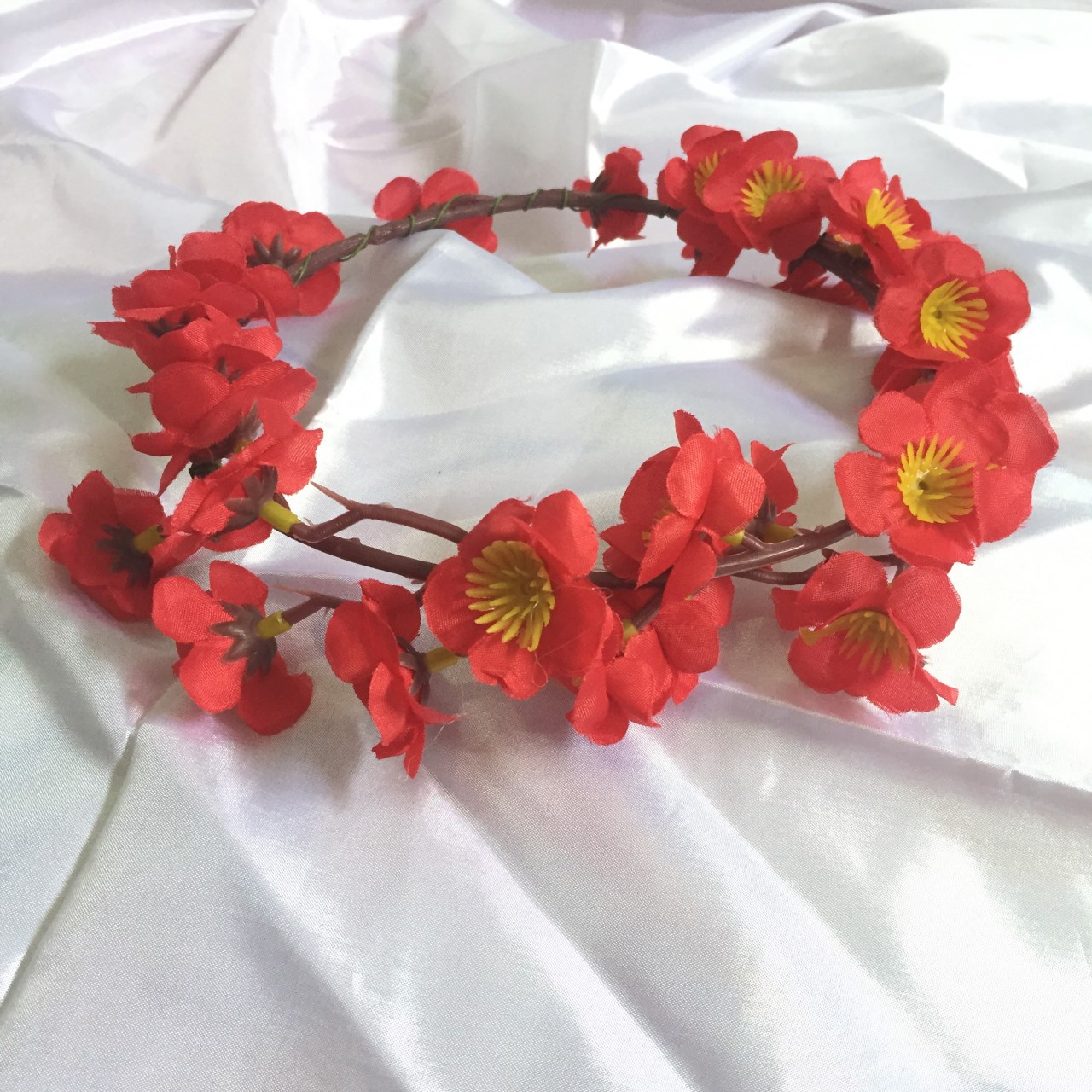 Fourpm store shop line sakura red flower crown izmirmasajfo Image collections