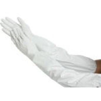 ショーワ No240腕カバー付薄手 Lサイズ ホワイト NO240LW [354-7752] 【手袋】[NO240-LW]