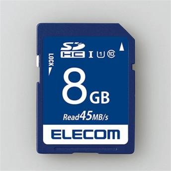 エレコム SDHCカード MF-FS008GU11R 容量:8GB