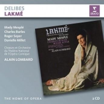 ドリーブ (1836-1891)/Lakme: Lombard / Theatre De L'opera-comique Mesple Millet Burles R.soyer Benoit