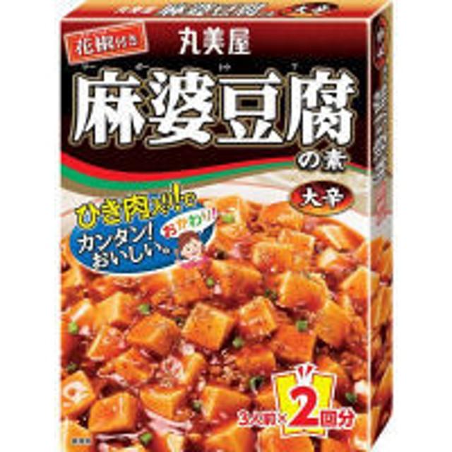 丸美屋 麻婆豆腐の素 大辛 162g 1個