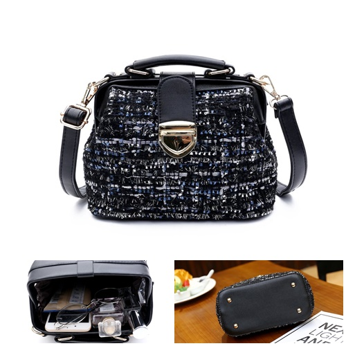 B988-blue Doctor Bag Mini Import Wanita