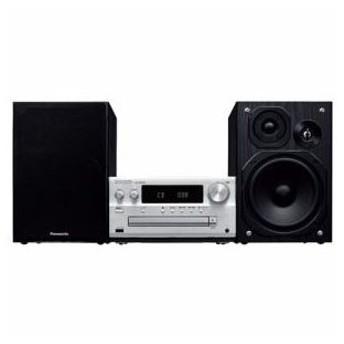 Panasonic ハイレゾ音源対応 CDステレオシステム シルバー SC-PMX80-S 代引不可