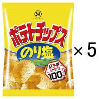 湖池屋 小袋ポテトチップス のり塩 28g 1セット(5袋入)