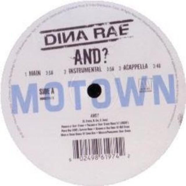 Dina Rae / And (X3)/Can't Even See It/Hit Of Me/Round【輸入盤LPレコード】
