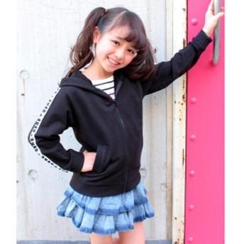 【NEW】アナップキッズ&ガール(ANAP KIDS&GIRL)/ラインテープパーカー(別売りSET-UP)