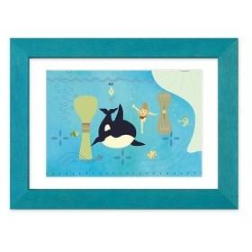 キャラアート(CHARA-ART)/【DinaDina 名作pictures 七つの海のティコ】深い海のひみつの場所